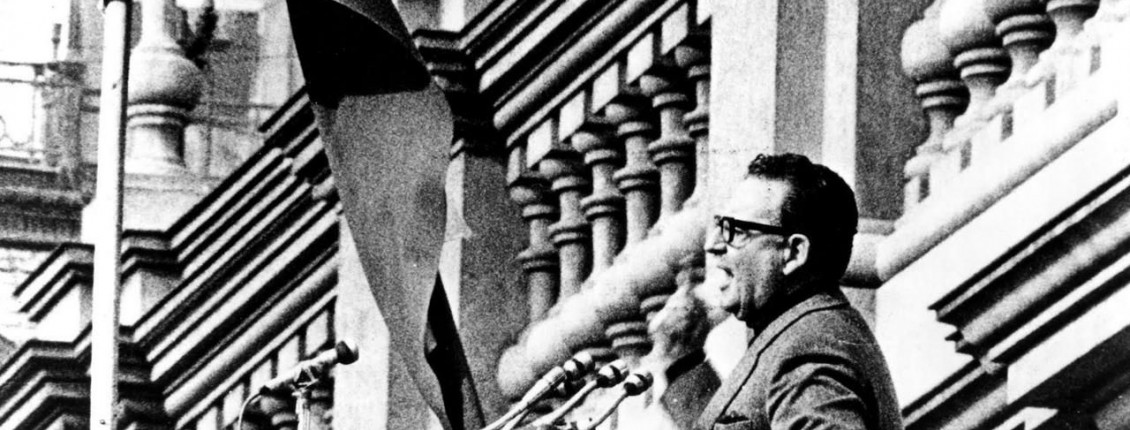 Salvador Allende in The Battle of Chile